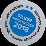 Europäischer Preis für Training, Beratung und Coaching Silber Preisträger 2018